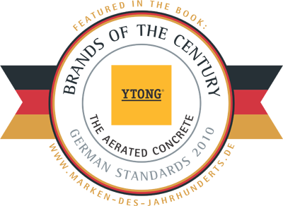 YTONG - Brand of the Century
