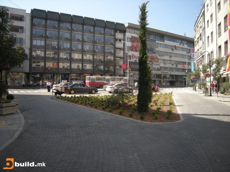 Планираната локација на споменикот на Христо Узунов