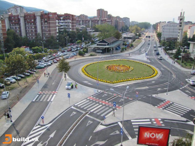 Планираната локација на споменикот на Васил Чакаларов