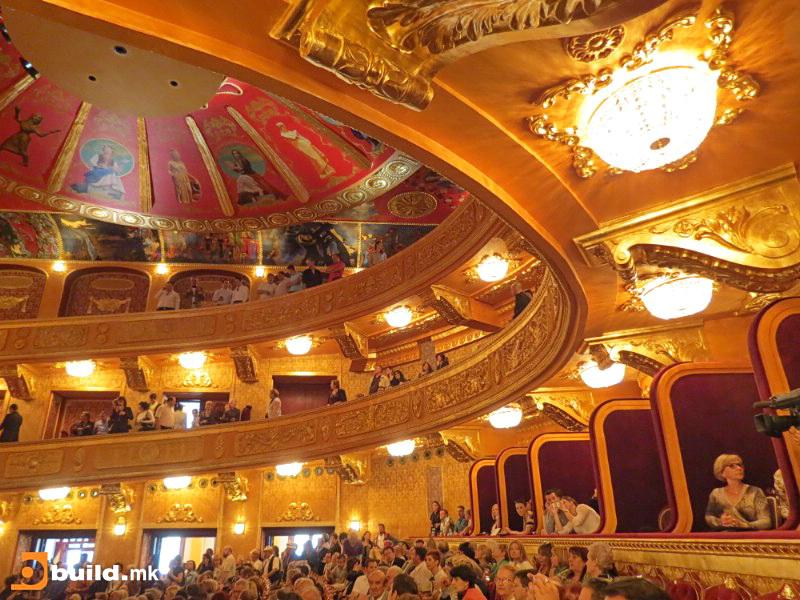 Nacionalen%20teatar%201726 Σκόπια: Παραλλαγές του Ήλιου της Βεργίνας στο νέο κτίριο του Εθνικού θεάτρου