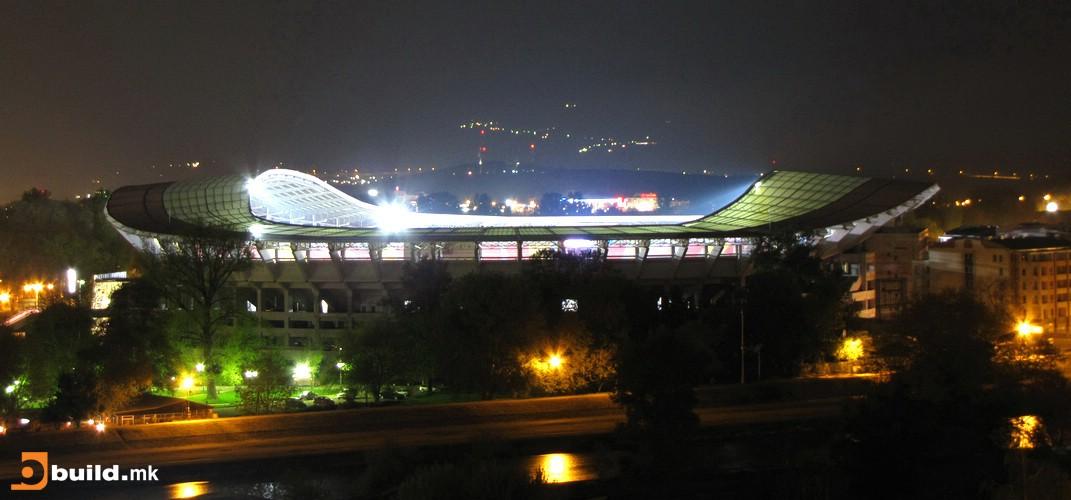 Националната арена Филип II Македонски