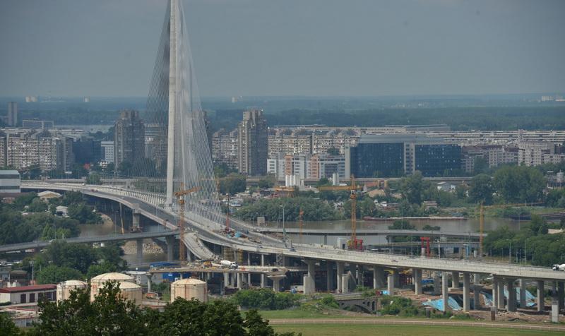 Мост на Ада - северни пристапни патишта
